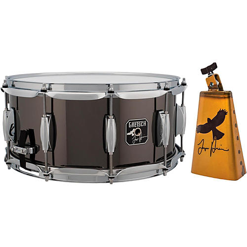 Gretsch Drums Taylor Hawkins Signature Snare Drum With Free LP Taylor Hawkins Cowbell thumbnail