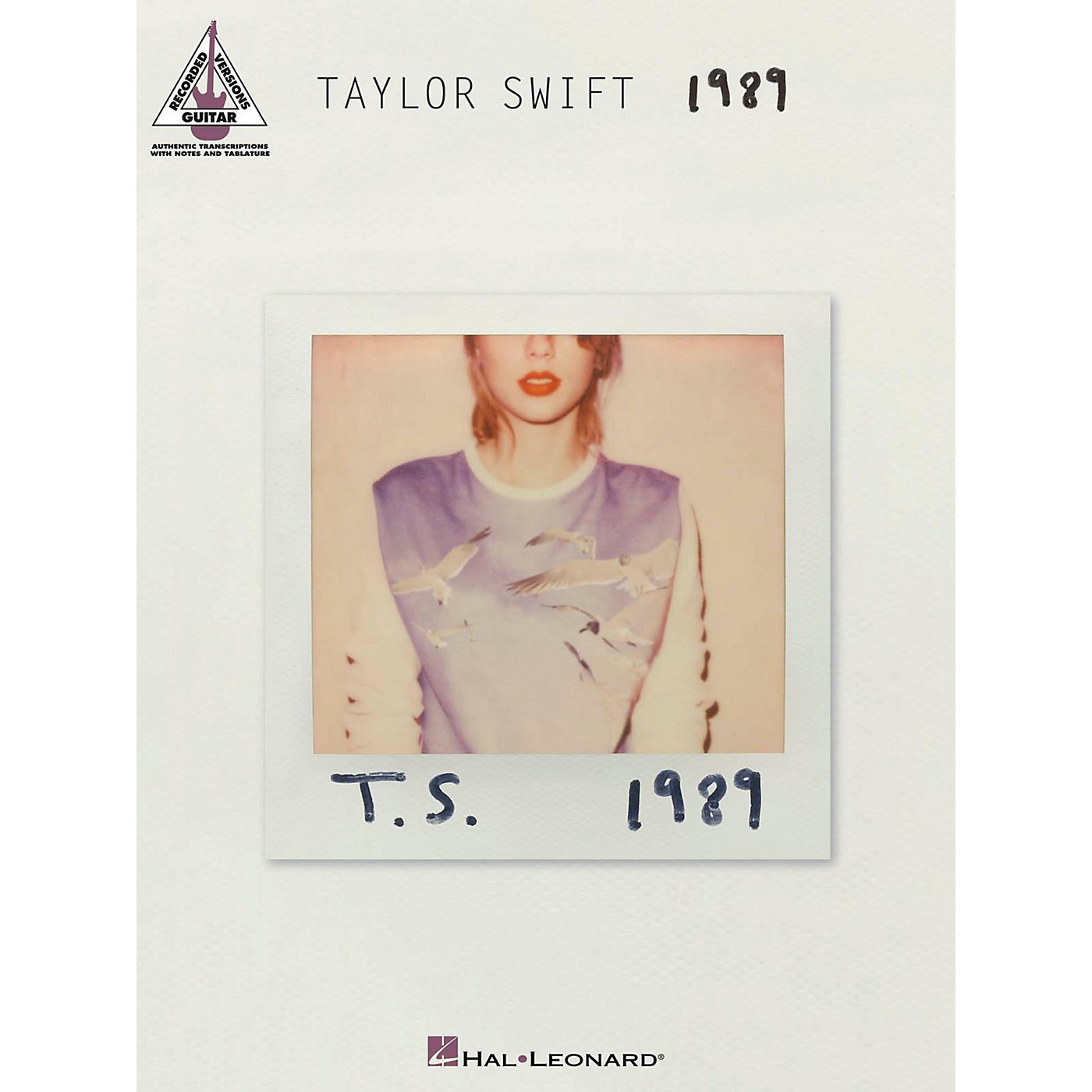 Hal Leonard Taylor Swift - 1989 Guitar Tab Songbook thumbnail