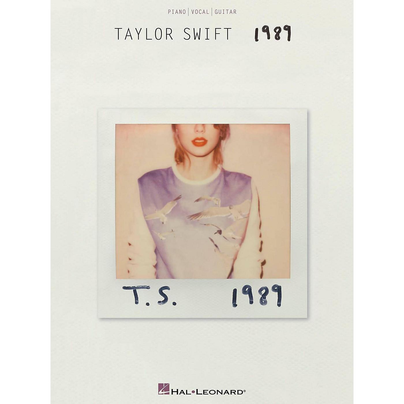 Hal Leonard Taylor Swift - 1989 Piano/Vocal/Guitar thumbnail