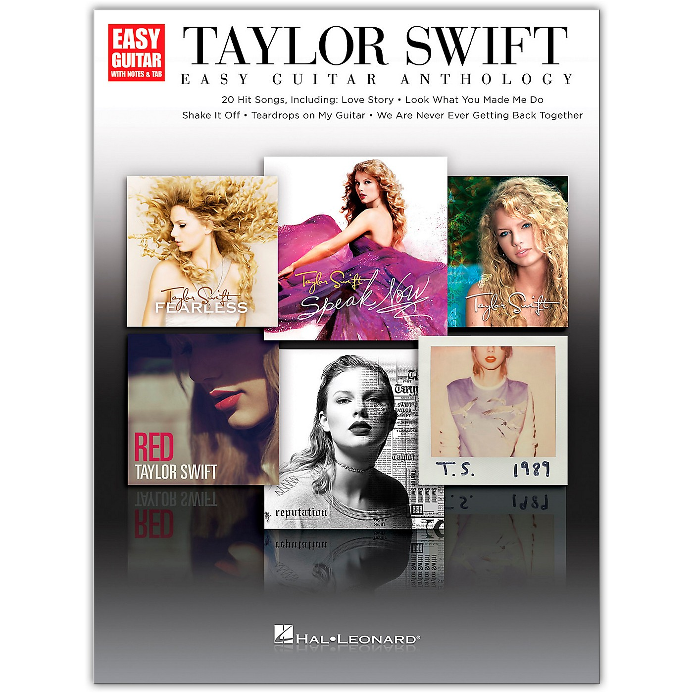 Hal Leonard Taylor Swift - Easy Guitar Anthology thumbnail