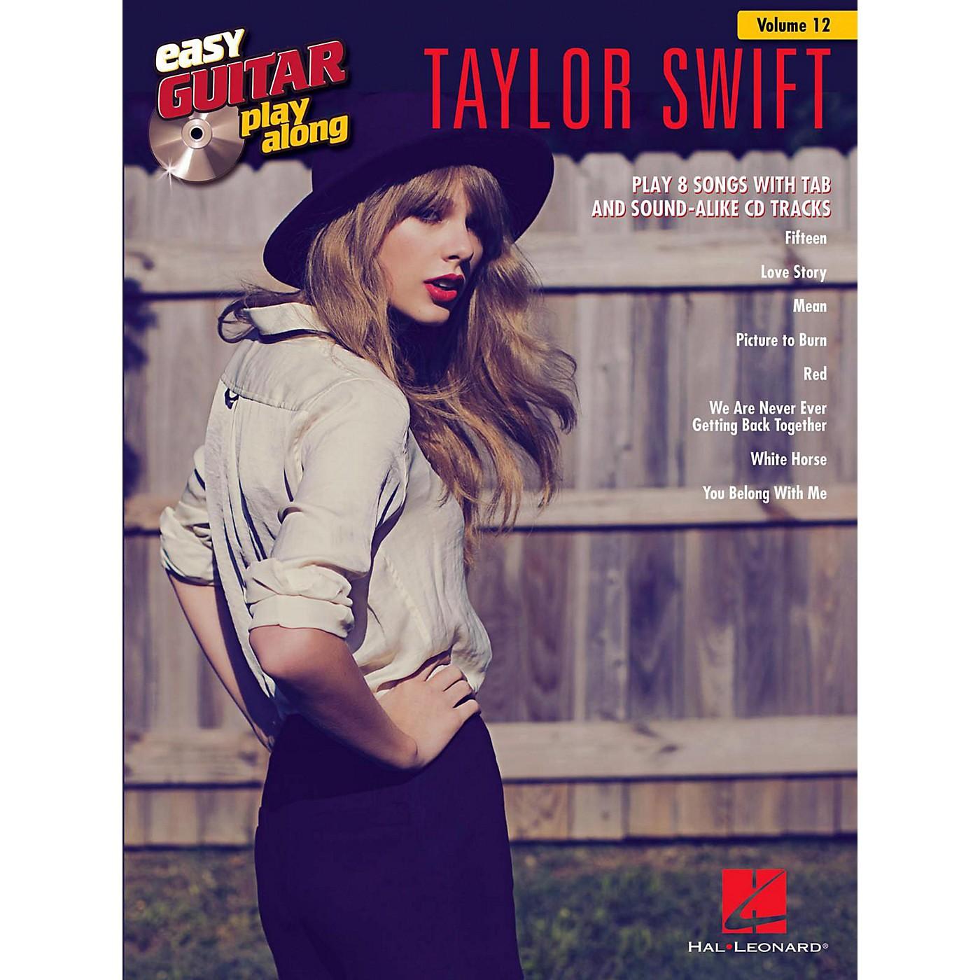 Hal Leonard Taylor Swift - Easy Guitar Play-Along Volume 12 Book/CD thumbnail