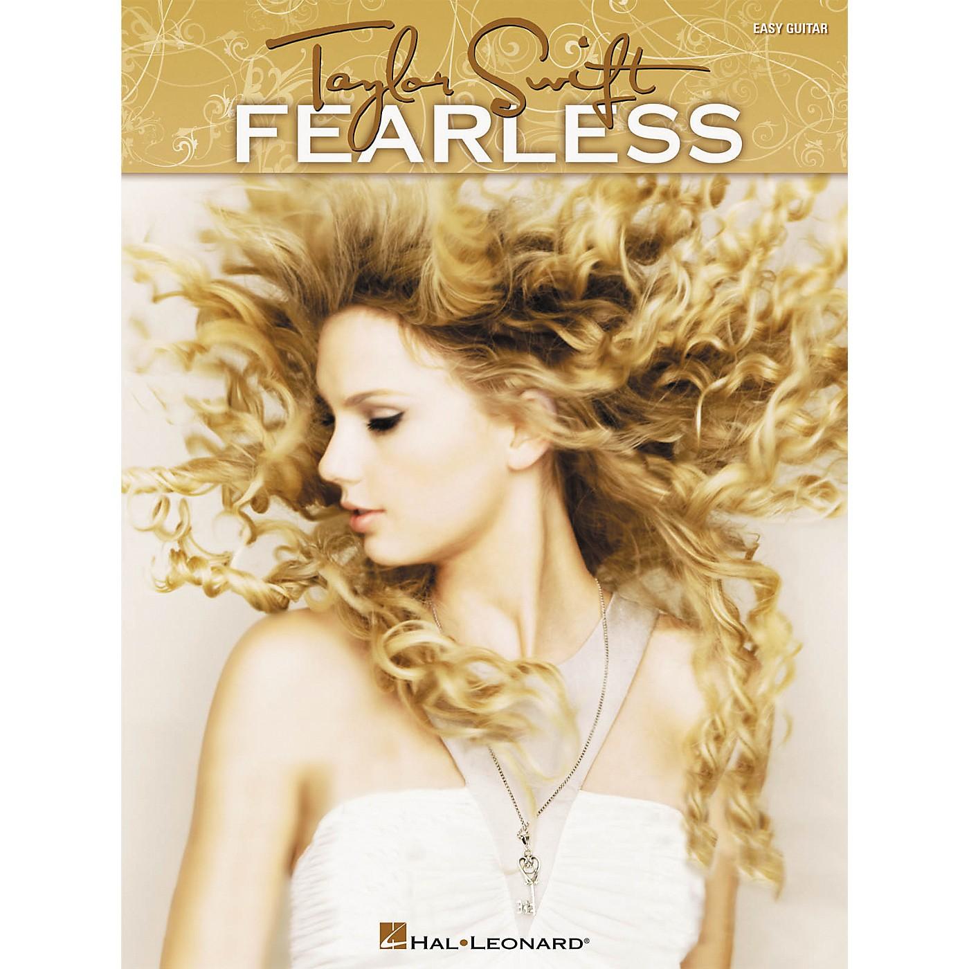 Hal Leonard Taylor Swift - Fearless - Easy Guitar (Book) thumbnail