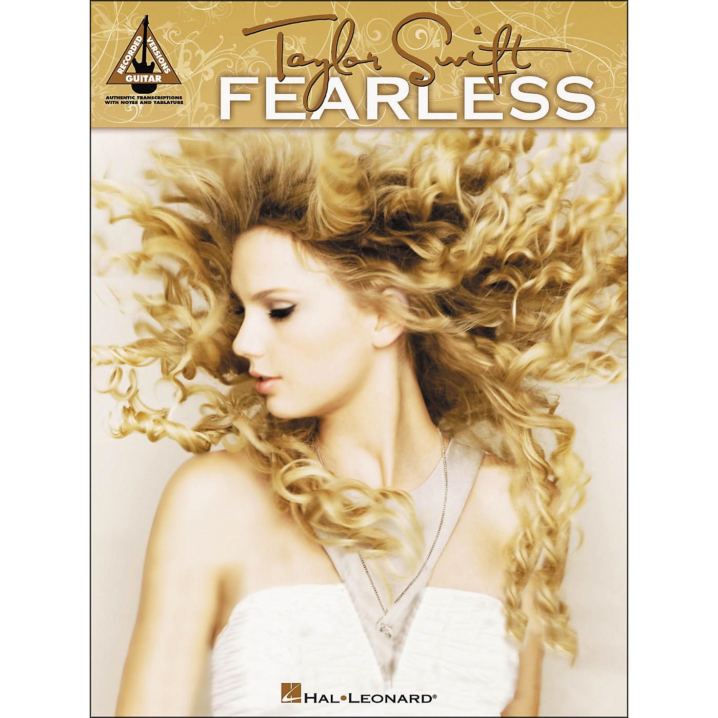 Hal Leonard Taylor Swift - Fearless Tab Book thumbnail