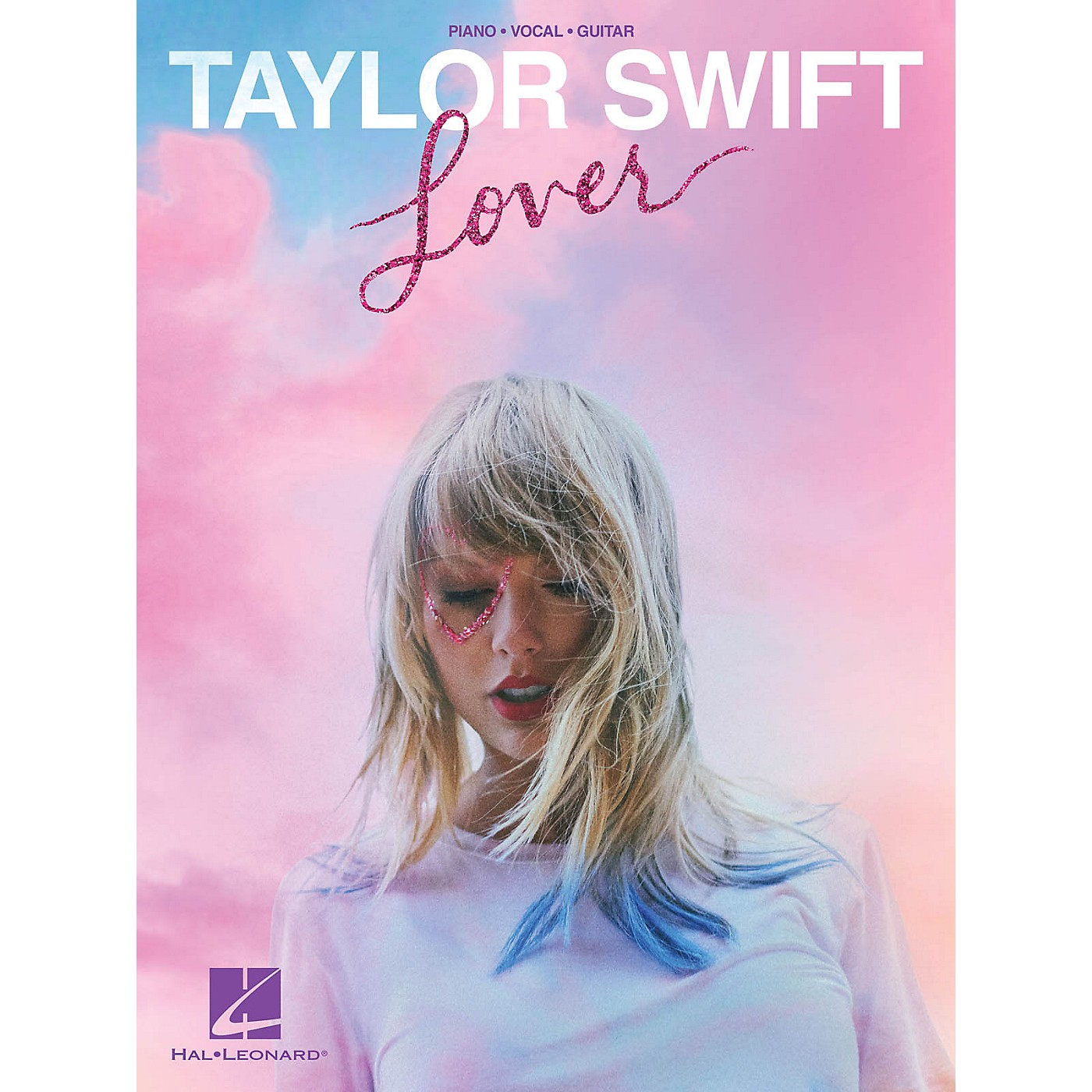 Hal Leonard Taylor Swift - Lover Piano/Vocal/Guitar Songbook thumbnail