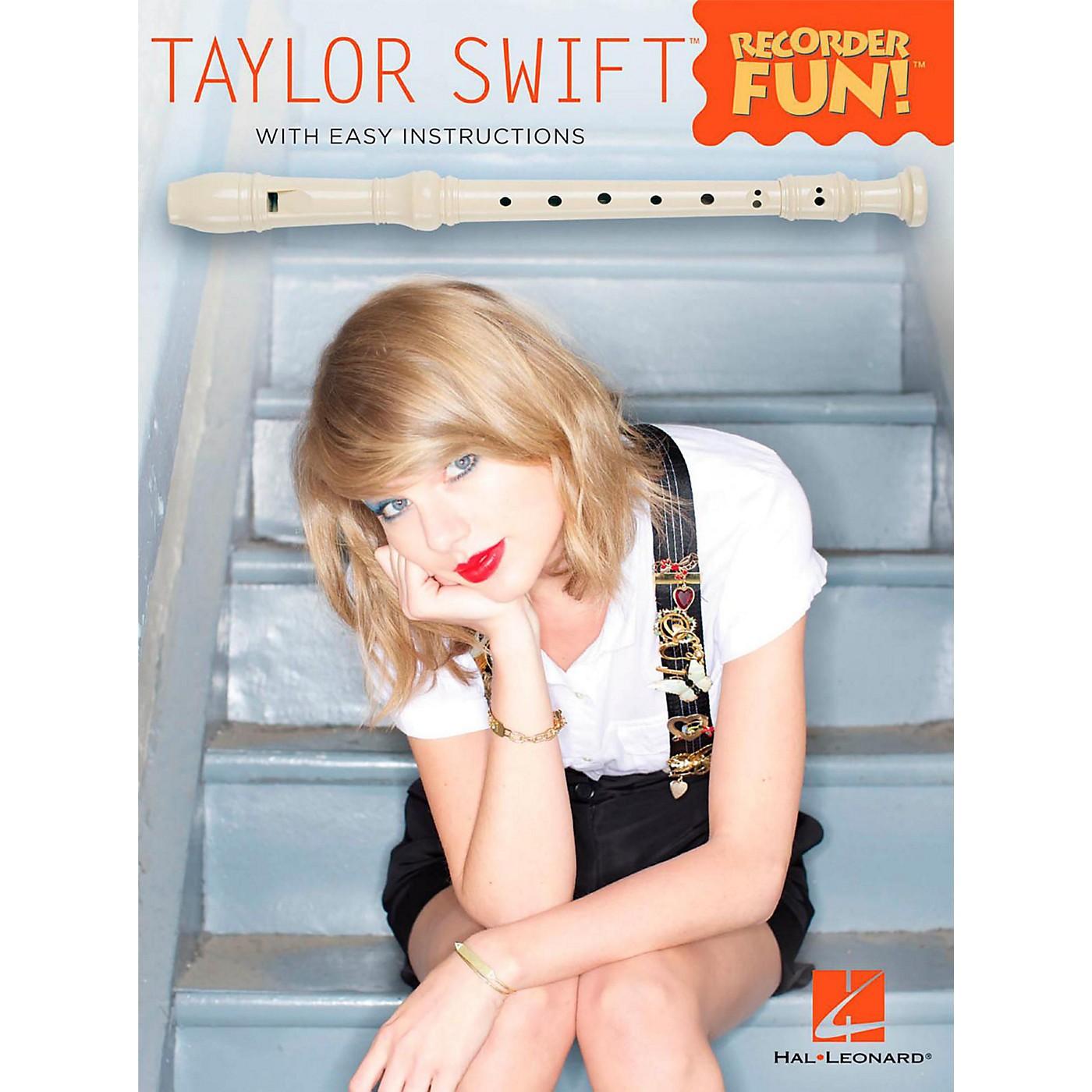 Hal Leonard Taylor Swift - Recorder Fun! Songbook thumbnail