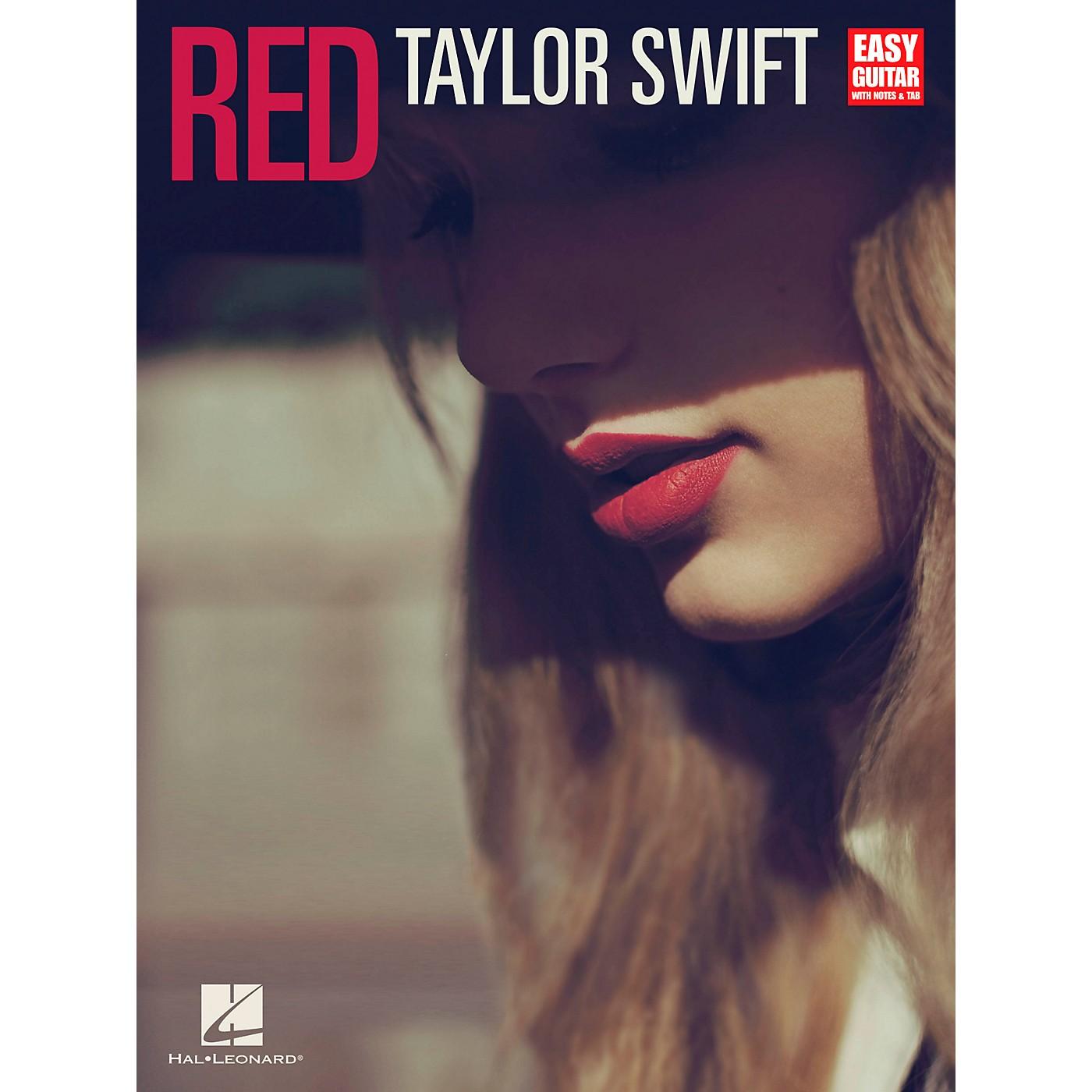 Hal Leonard Taylor Swift - Red for Easy Guitar Tab thumbnail