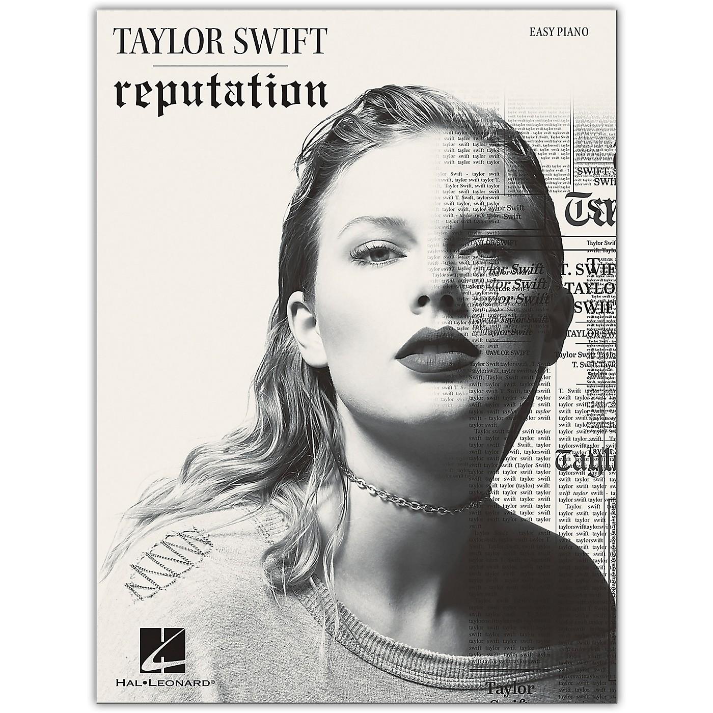 Hal Leonard Taylor Swift - Reputation for Easy Piano thumbnail