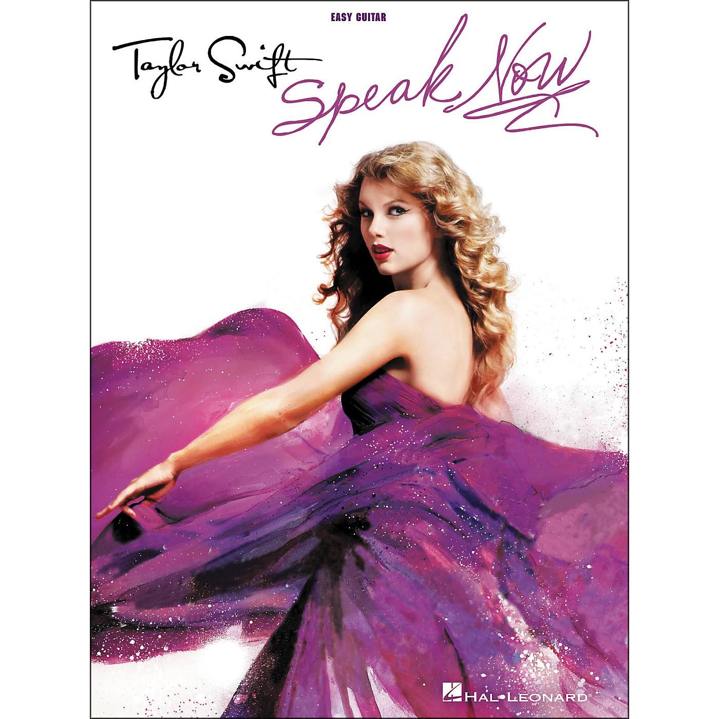 Hal Leonard Taylor Swift - Speak Now (Easy Guitar With Tab) thumbnail