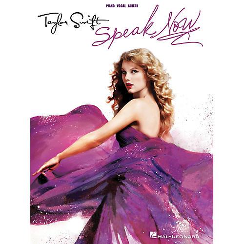 Hal Leonard Taylor Swift - Speak Now P/V/G Songbook thumbnail