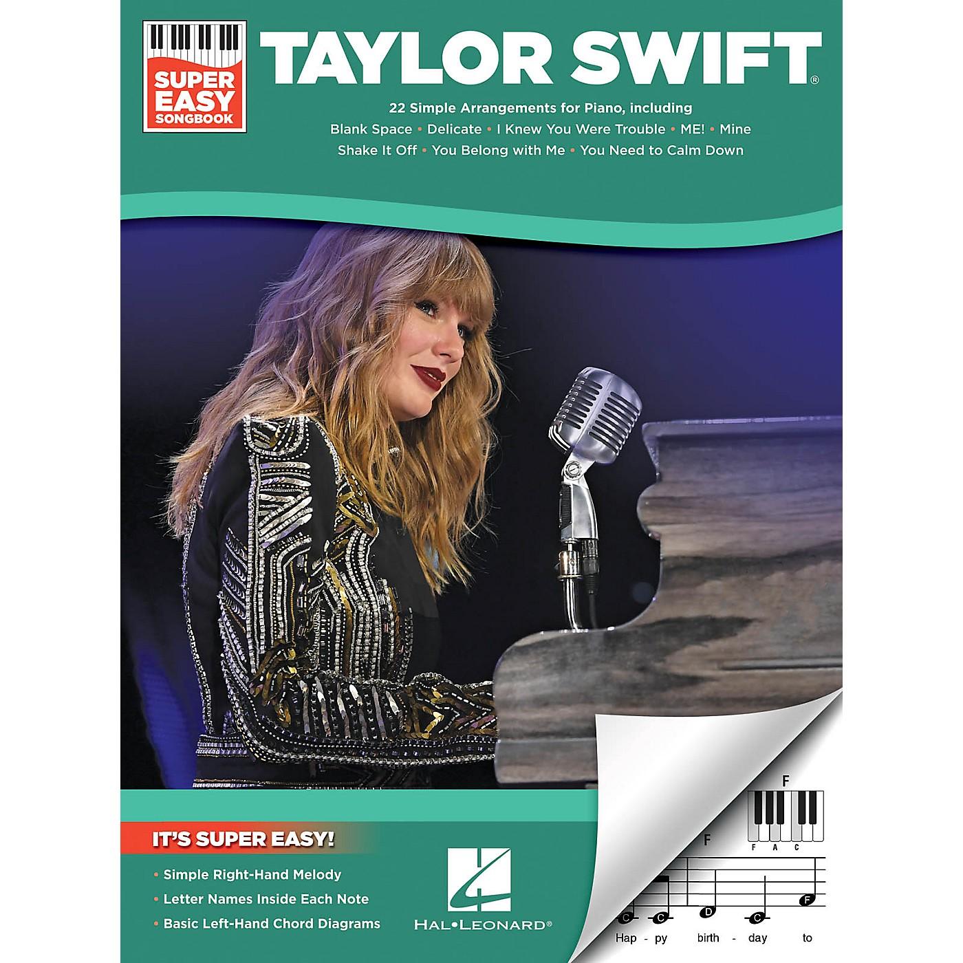 Hal Leonard Taylor Swift - Super Easy Songbook thumbnail