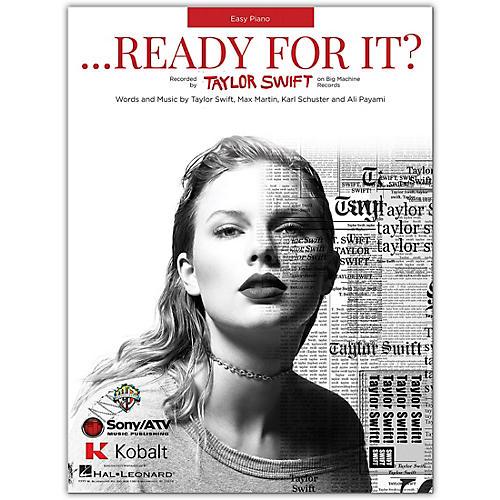 Hal Leonard Taylor Swift ...Ready For It?  Easy Piano Sheet thumbnail