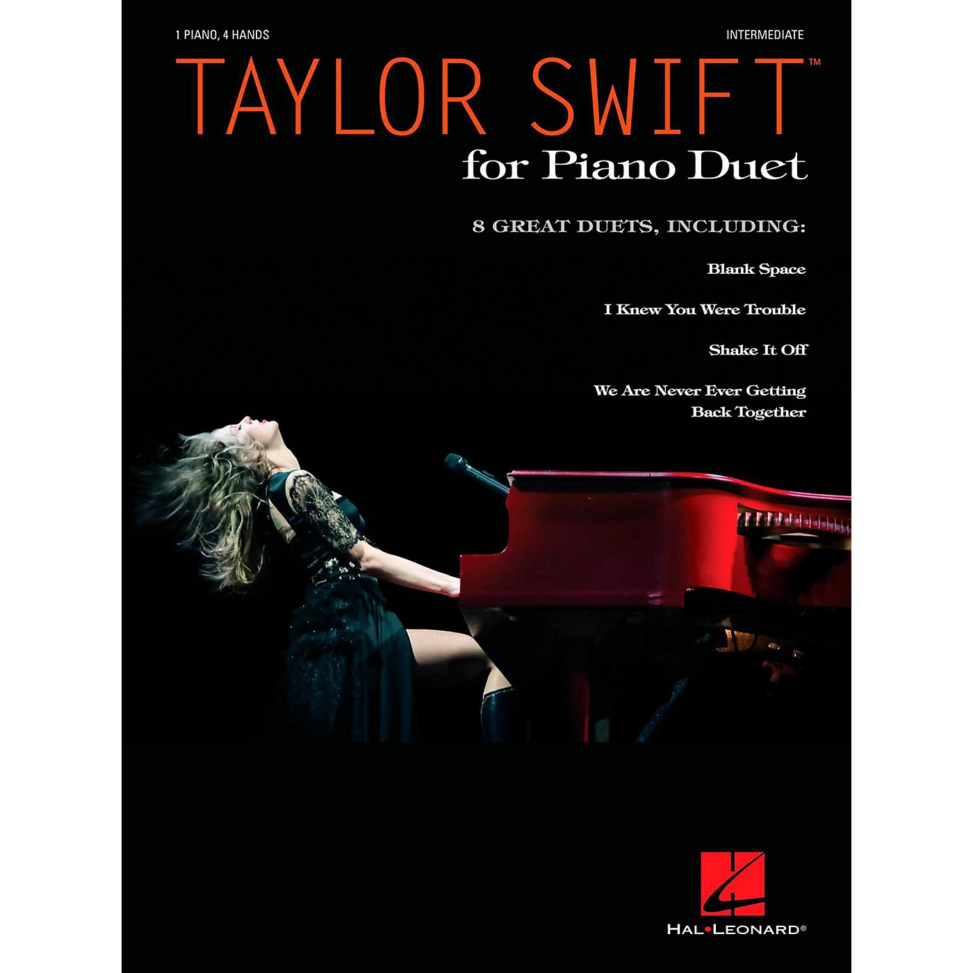 Hal Leonard Taylor Swift For Piano Duet (1 Piano 4 Hands) - Intermediate Level thumbnail