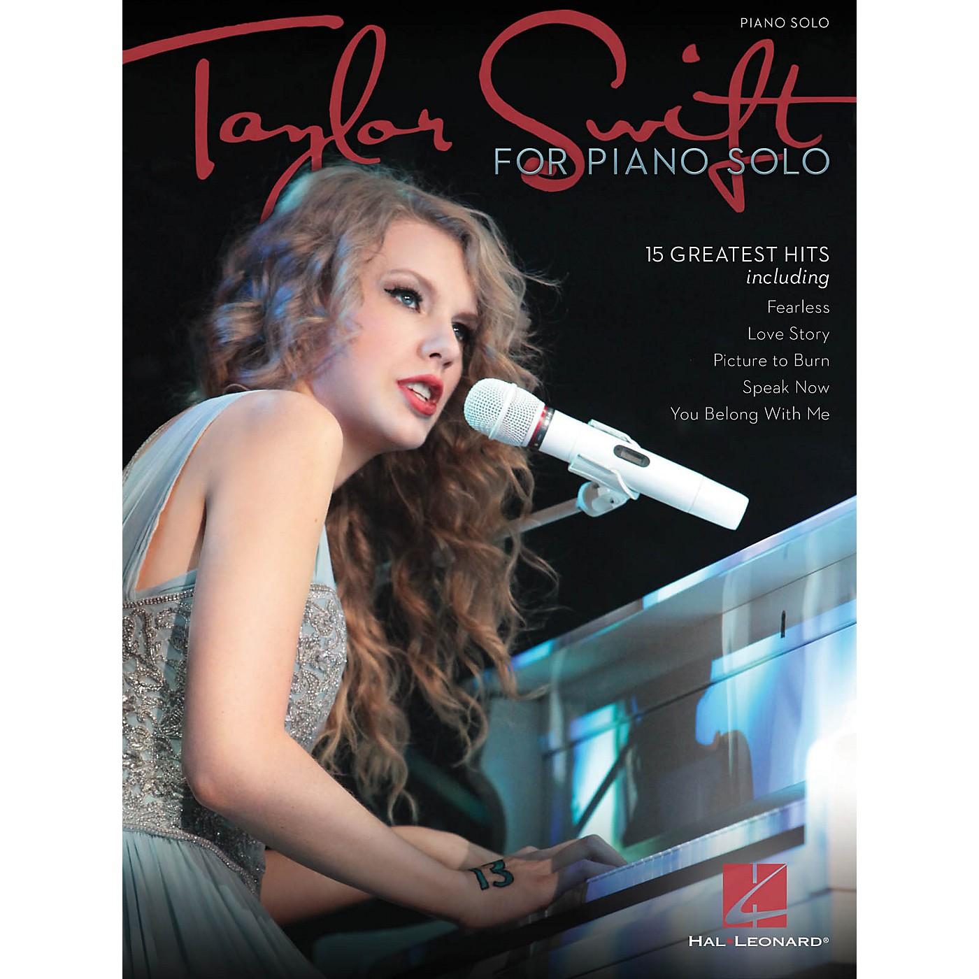 Hal Leonard Taylor Swift For Piano Solo thumbnail