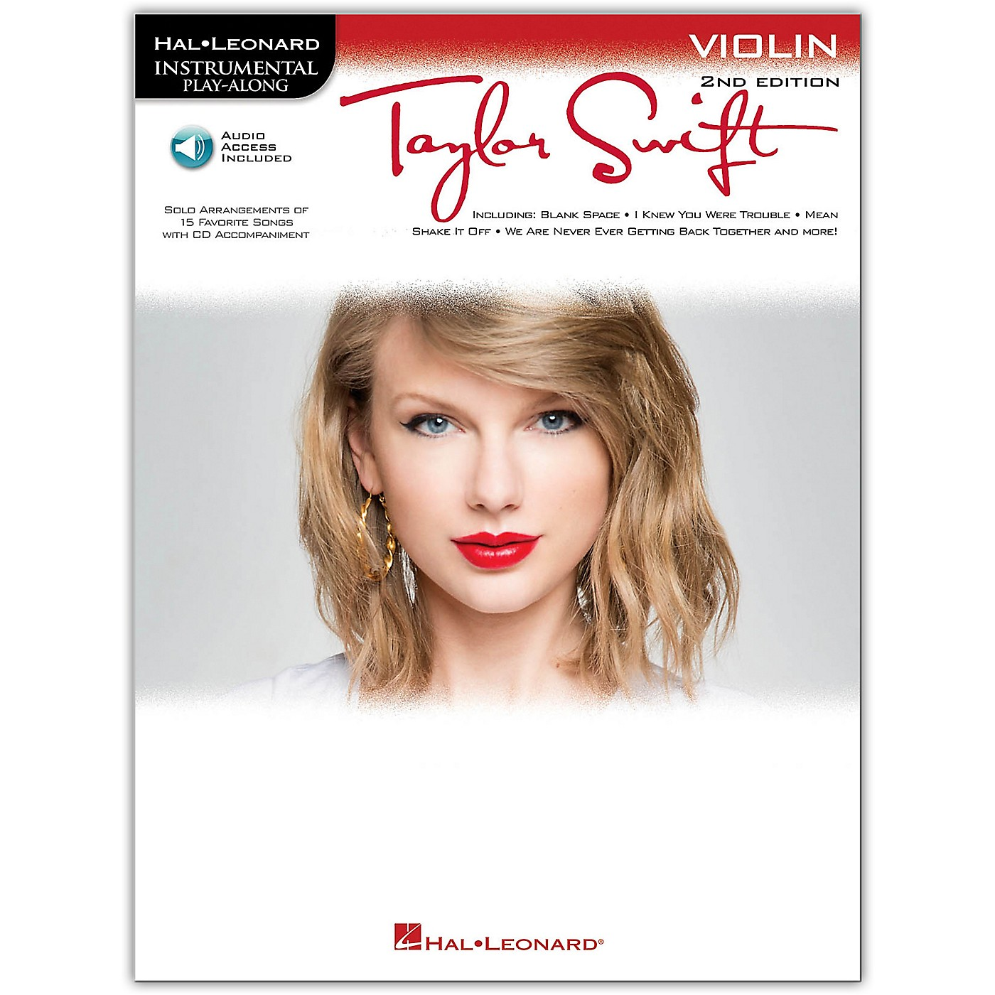 Hal Leonard Taylor Swift For Violin - Instrumental Play-Along 2nd Edition Book/Online Audio thumbnail