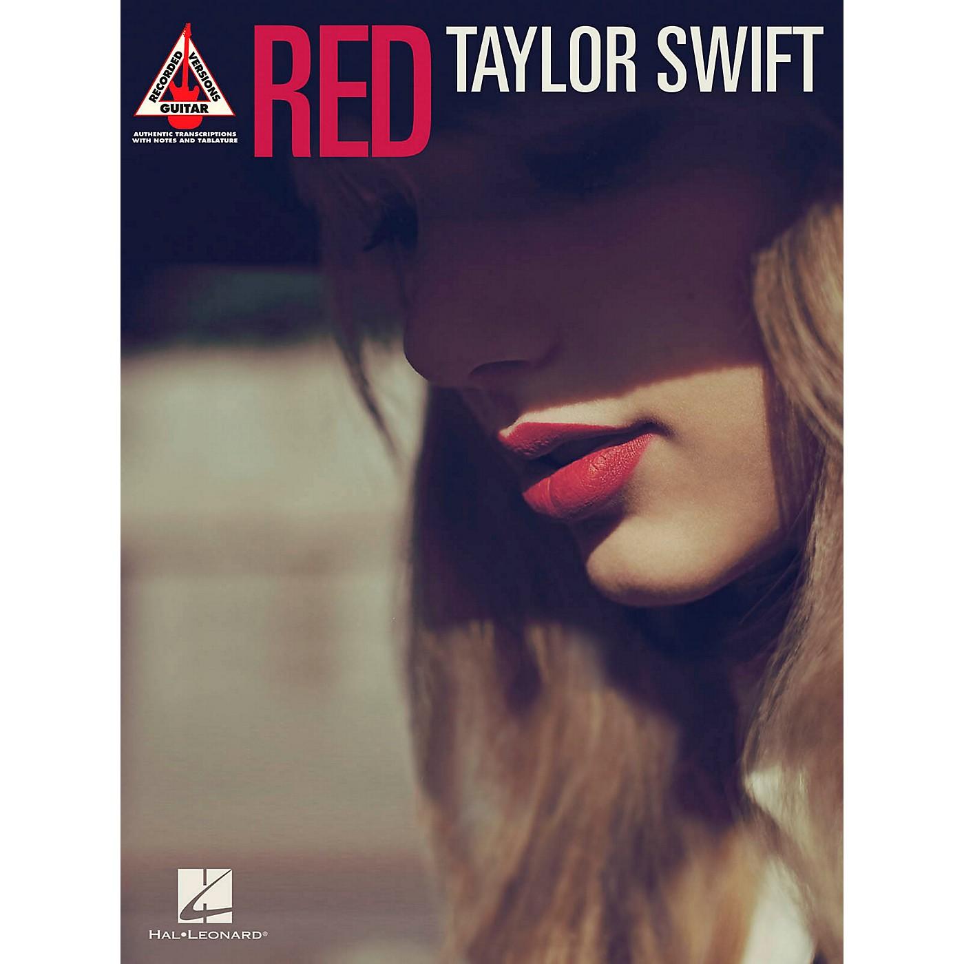 Hal Leonard Taylor Swift  Red Guitar Tablature Songbook thumbnail