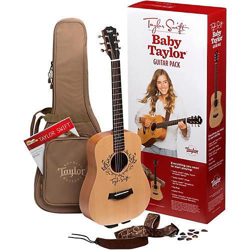 Taylor Taylor Swift Signature Baby Taylor Acoustic Guitar Pack thumbnail