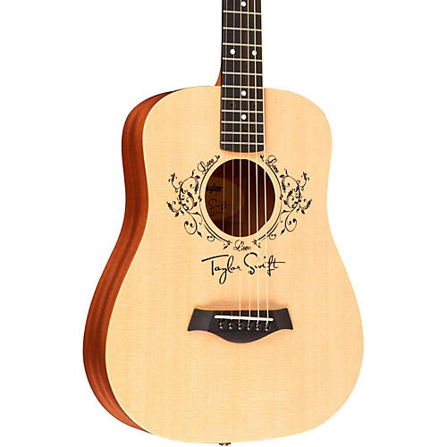 Taylor Taylor Swift Signature Baby Taylor Left-Handed Acoustic Guitar thumbnail