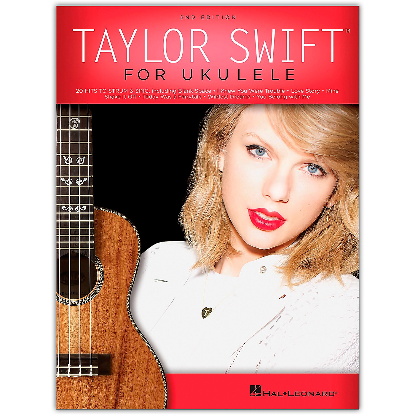 Hal Leonard Taylor Swift for Ukulele – 2nd Edition thumbnail