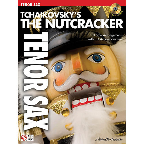 Cherry Lane Tchaikovsky's The Nutcracker Instrumental Play-Along Series Book with CD thumbnail