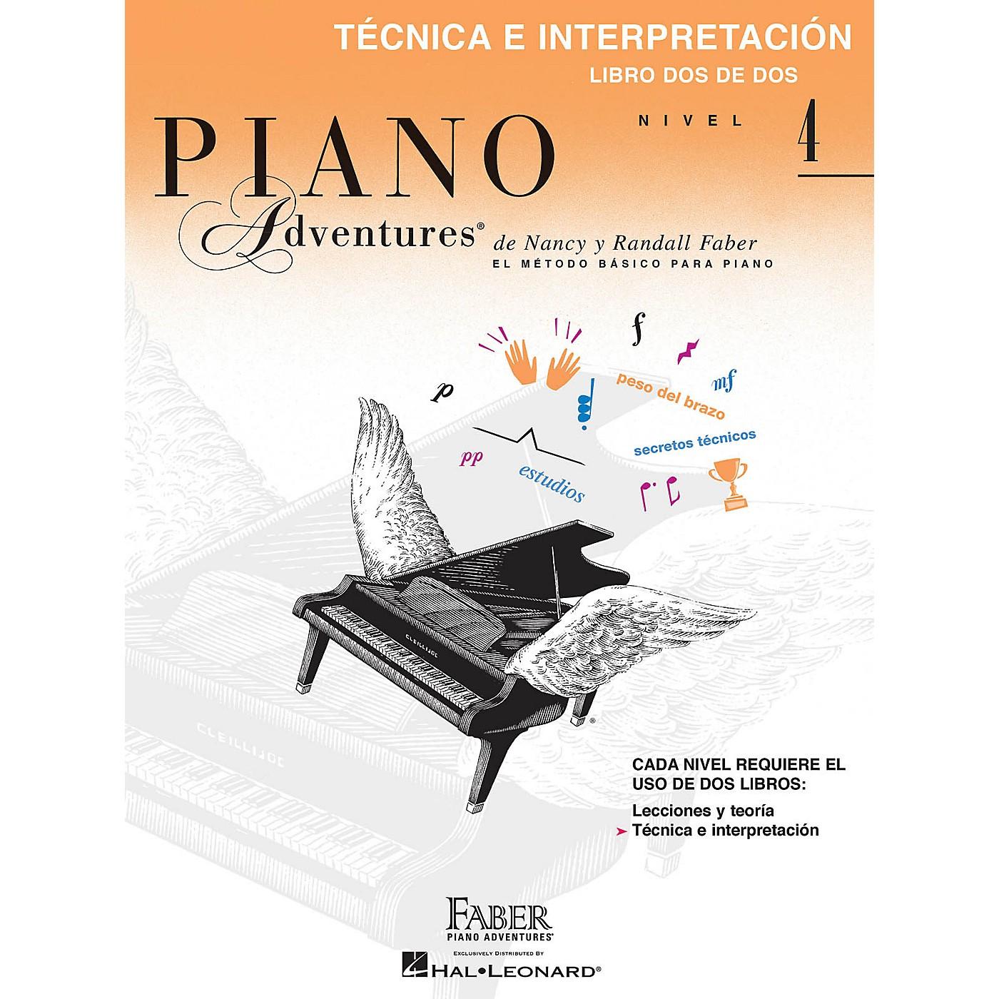 Faber Piano Adventures Téchnica e interpretación, Nivel 4 Faber Piano Adventures® Series by Randall Faber thumbnail