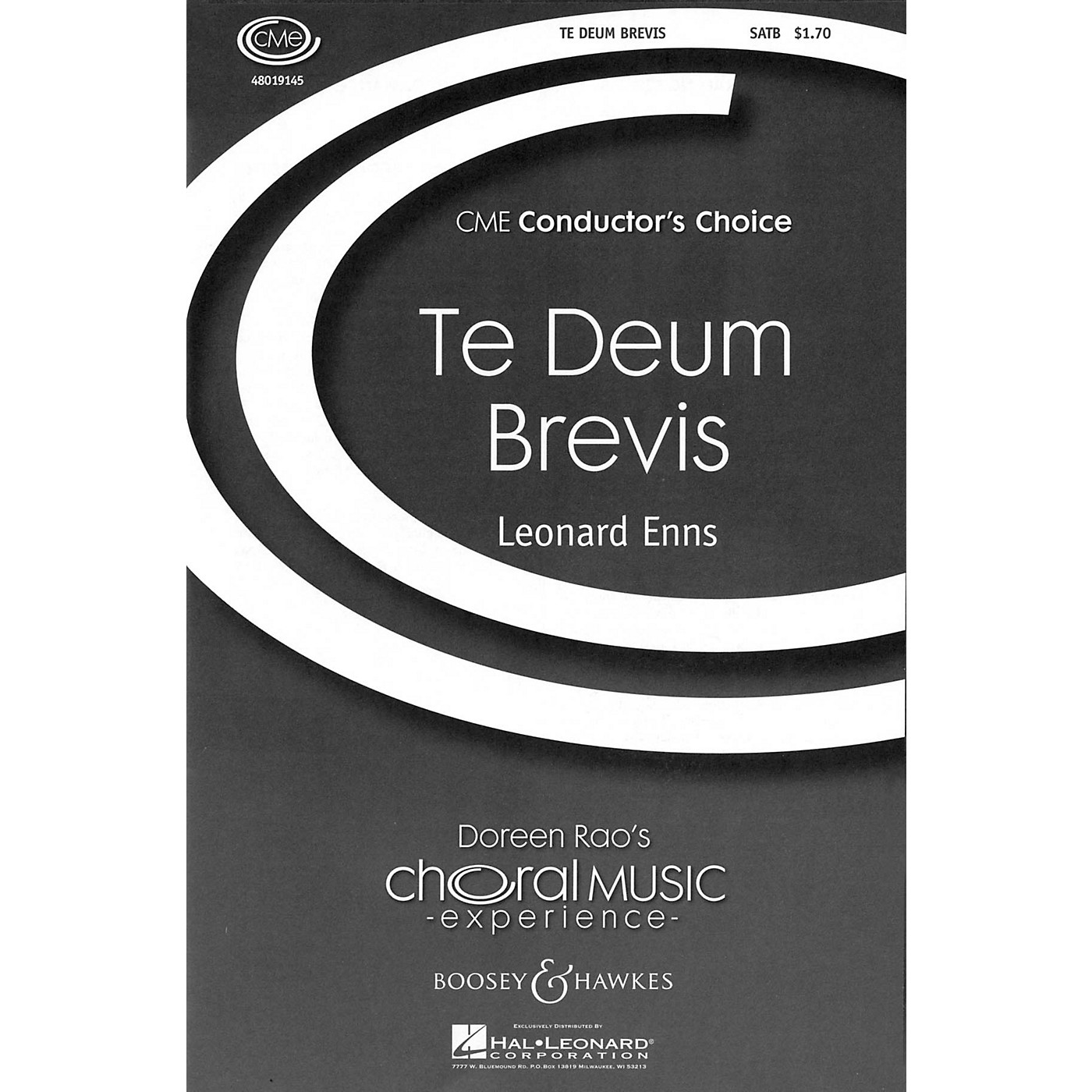 Boosey and Hawkes Te Deum Brevis (CME Conductor's Choice) SATB composed by Leonard Enns thumbnail