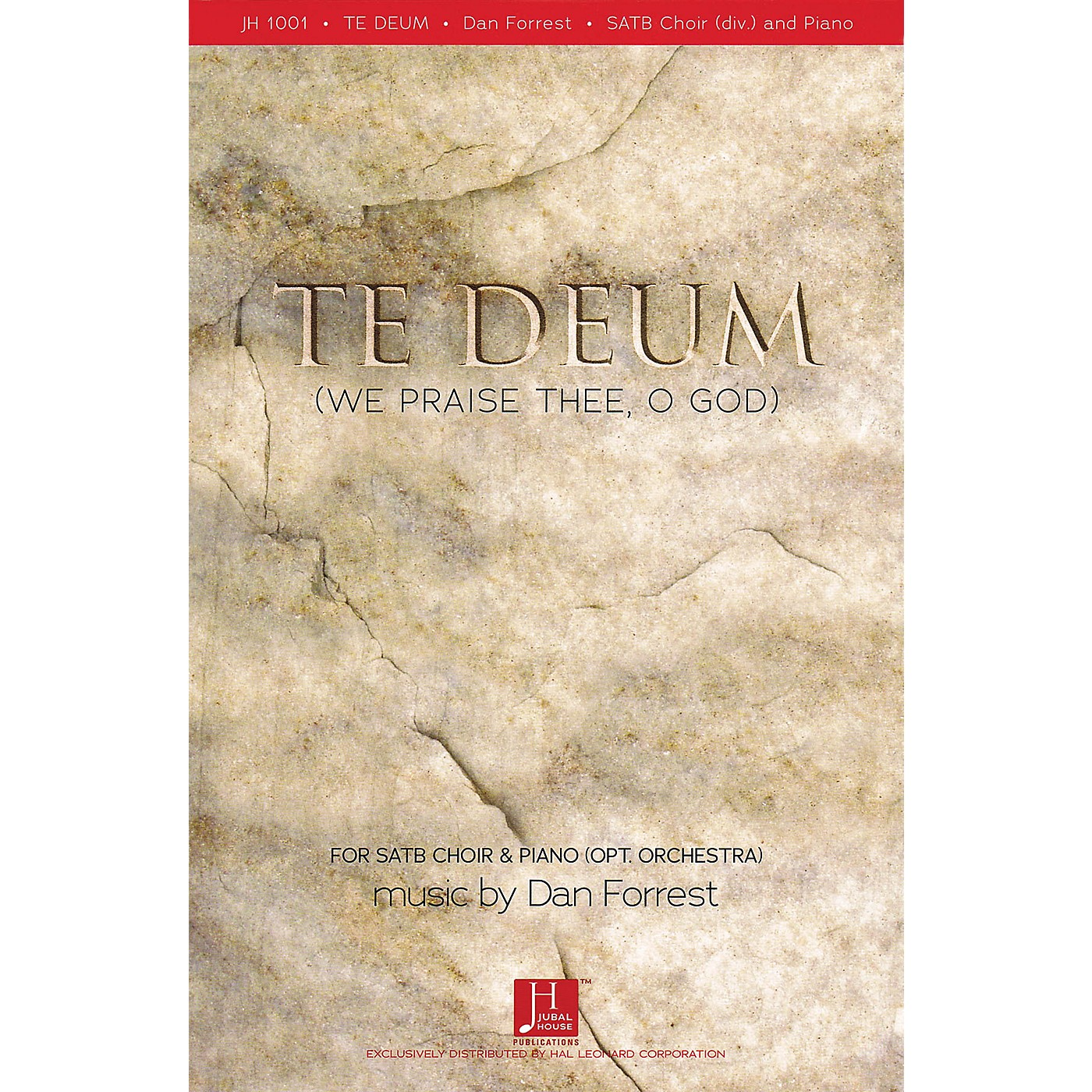 Fred Bock Music Te Deum (We Praise Thee, O God) SATB composed by Dan Forrest thumbnail