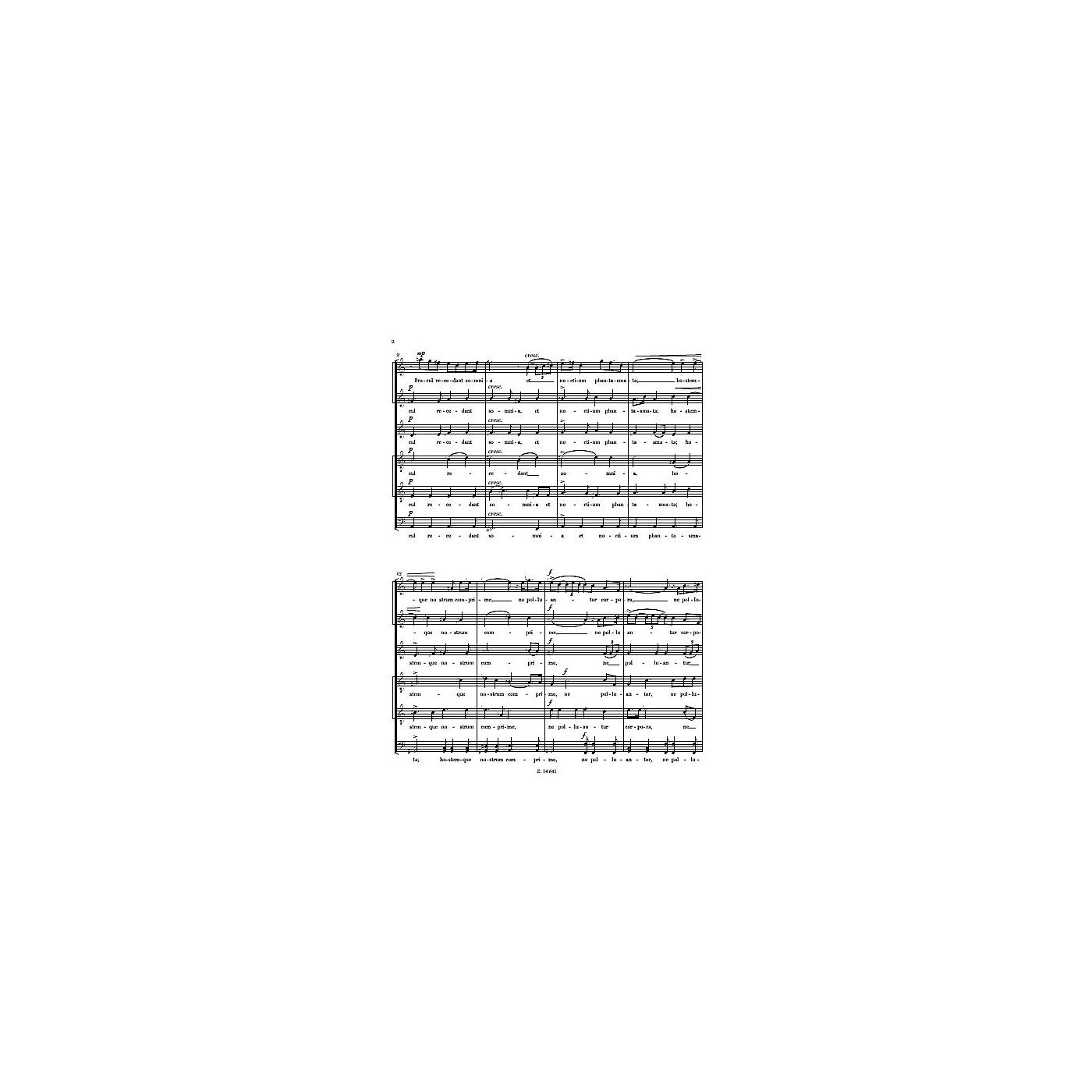 Editio Musica Budapest Te Lucis Ante Terminum SATB Composed by Levente Gyongyosi thumbnail