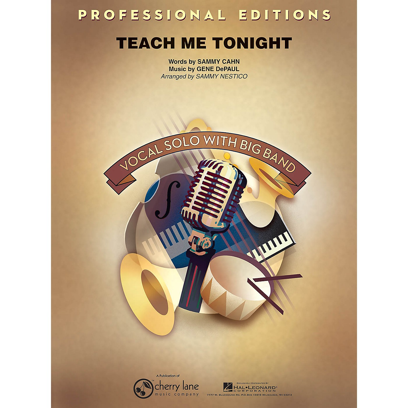 Cherry Lane Teach Me Tonight (Key: Bb, Db) Jazz Band Level 5 Arranged by Sammy Nestico thumbnail