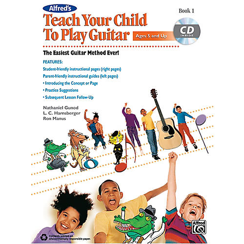 Alfred Teach Your Child to Play Guitar Book 1 & CD thumbnail