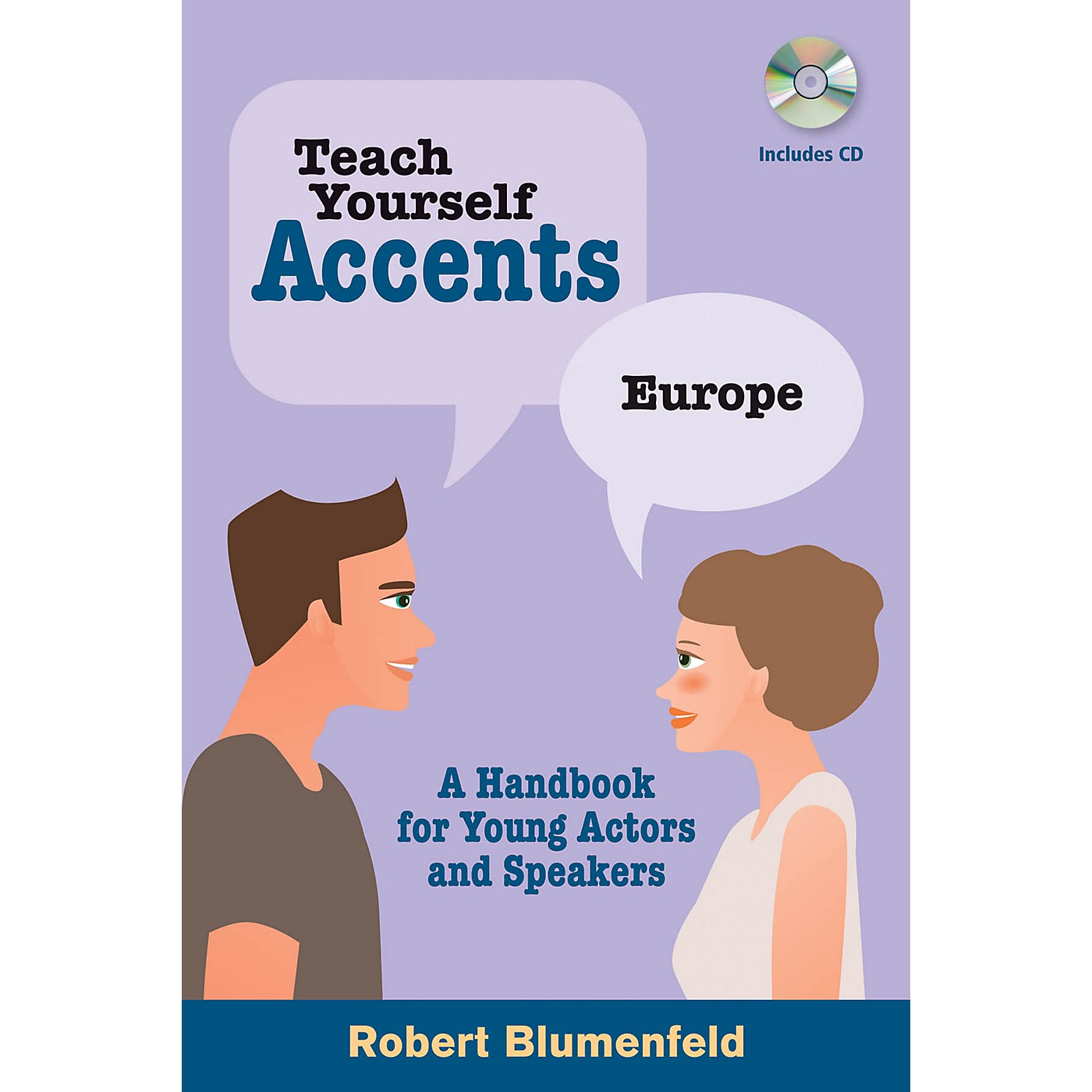 Limelight Editions Teach Yourself Accents - Europe Limelight Series Softcover with CD Written by Robert Blumenfeld thumbnail
