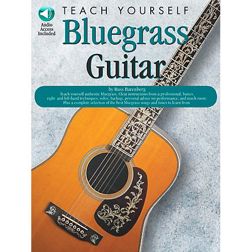 Music Sales Teach Yourself Bluegrass Guitar (Book/CD)-thumbnail