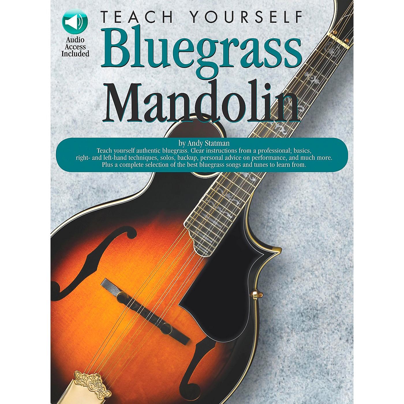 Music Sales Teach Yourself Bluegrass Mandolin (Book/CD) thumbnail