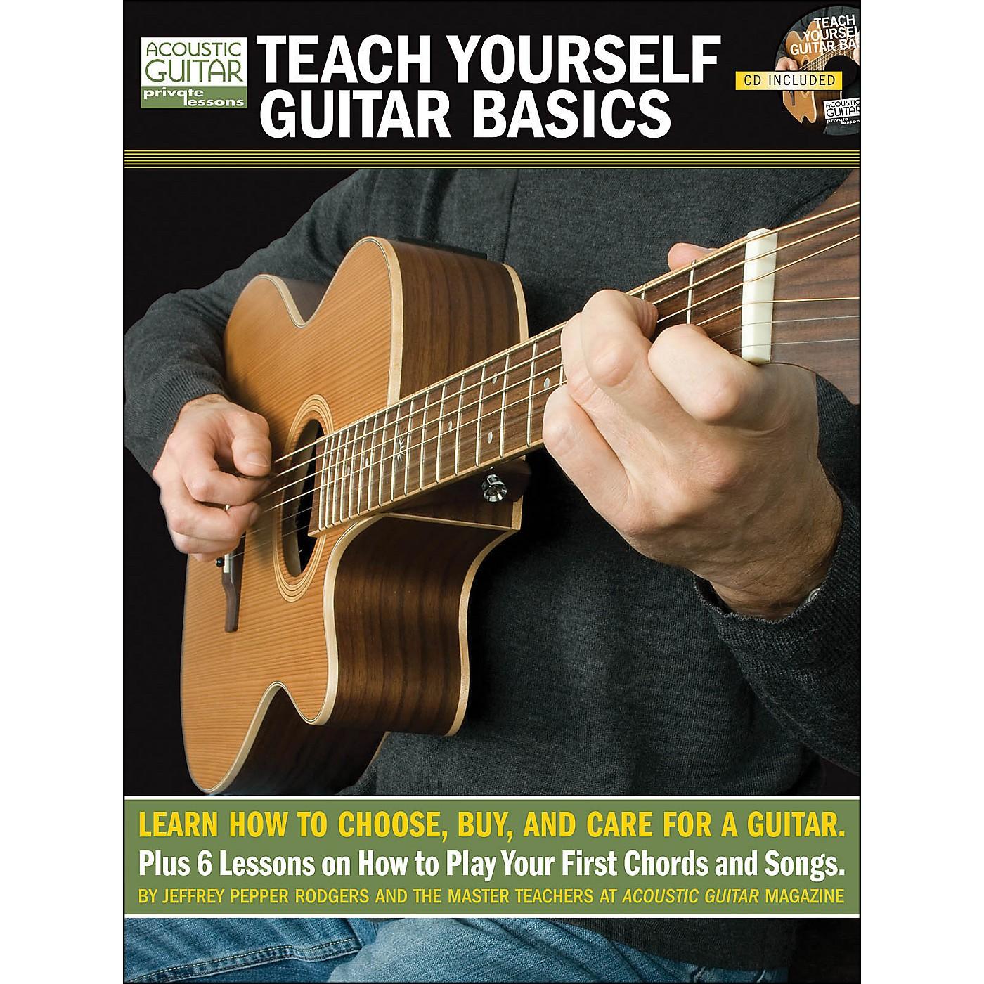 Hal Leonard Teach Yourself Guitar Basics (Book/CD Package) thumbnail