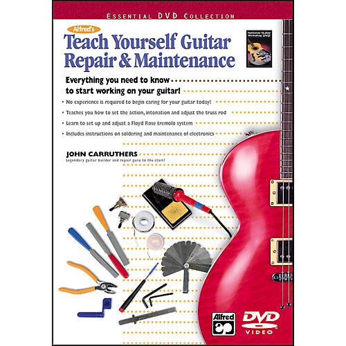 Alfred Teach Yourself Guitar Repair and Maintenance (Book/DVD) thumbnail
