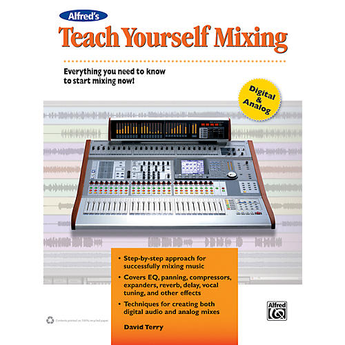 Alfred Teach Yourself Mixing Book thumbnail