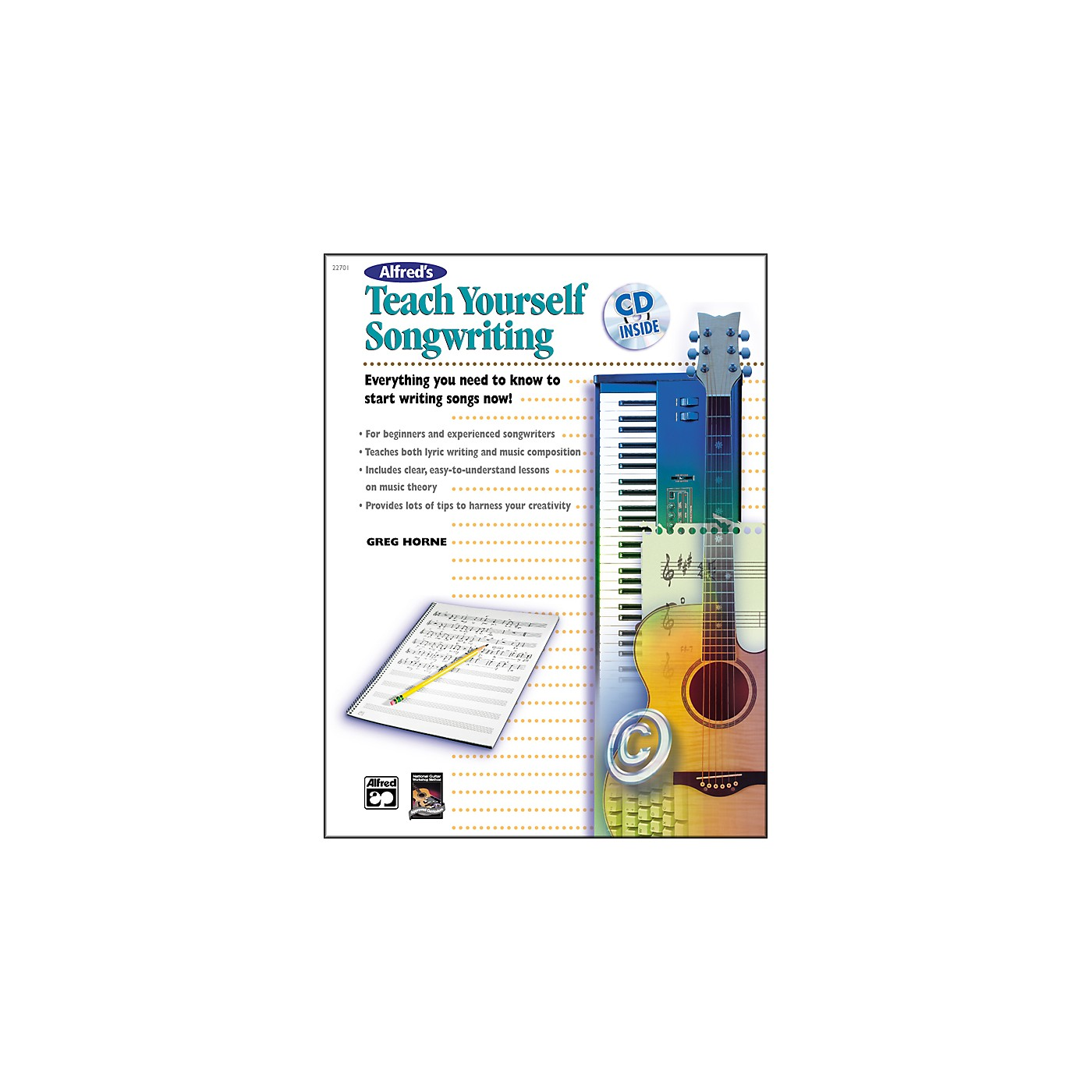 Alfred Teach Yourself Songwriting (Book/CD) thumbnail