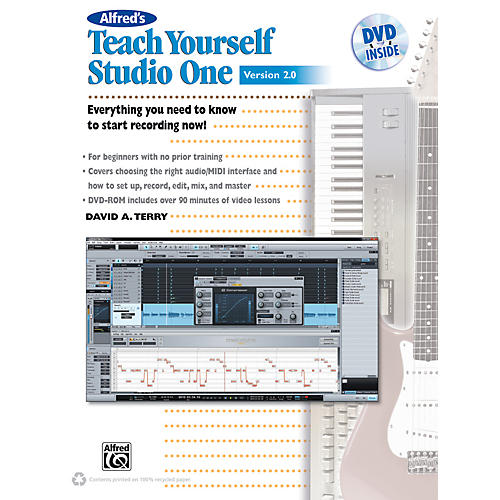 Alfred Teach Yourself Studio One Version 2.0 Book & DVD thumbnail