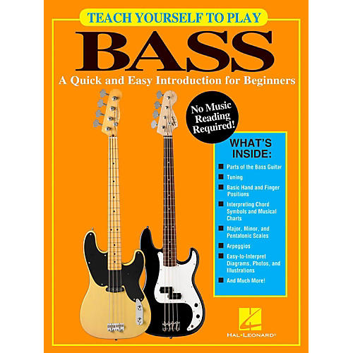 Hal Leonard Teach Yourself To Play Bass - A Quick & Easy Introduction For Beginners thumbnail