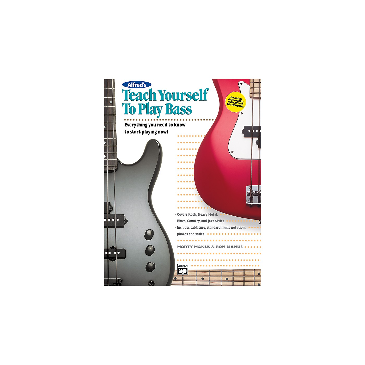 Alfred Teach Yourself To Play Bass (Book/CD) thumbnail