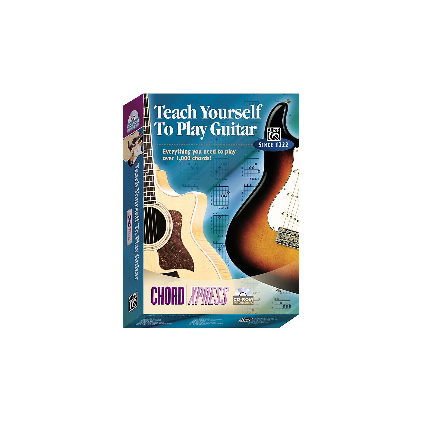 Alfred Teach Yourself To Play Guitar: ChordXpress CD-ROM thumbnail