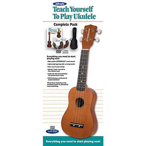Alfred Teach Yourself to Play Ukulele Complete Starter Pack-thumbnail