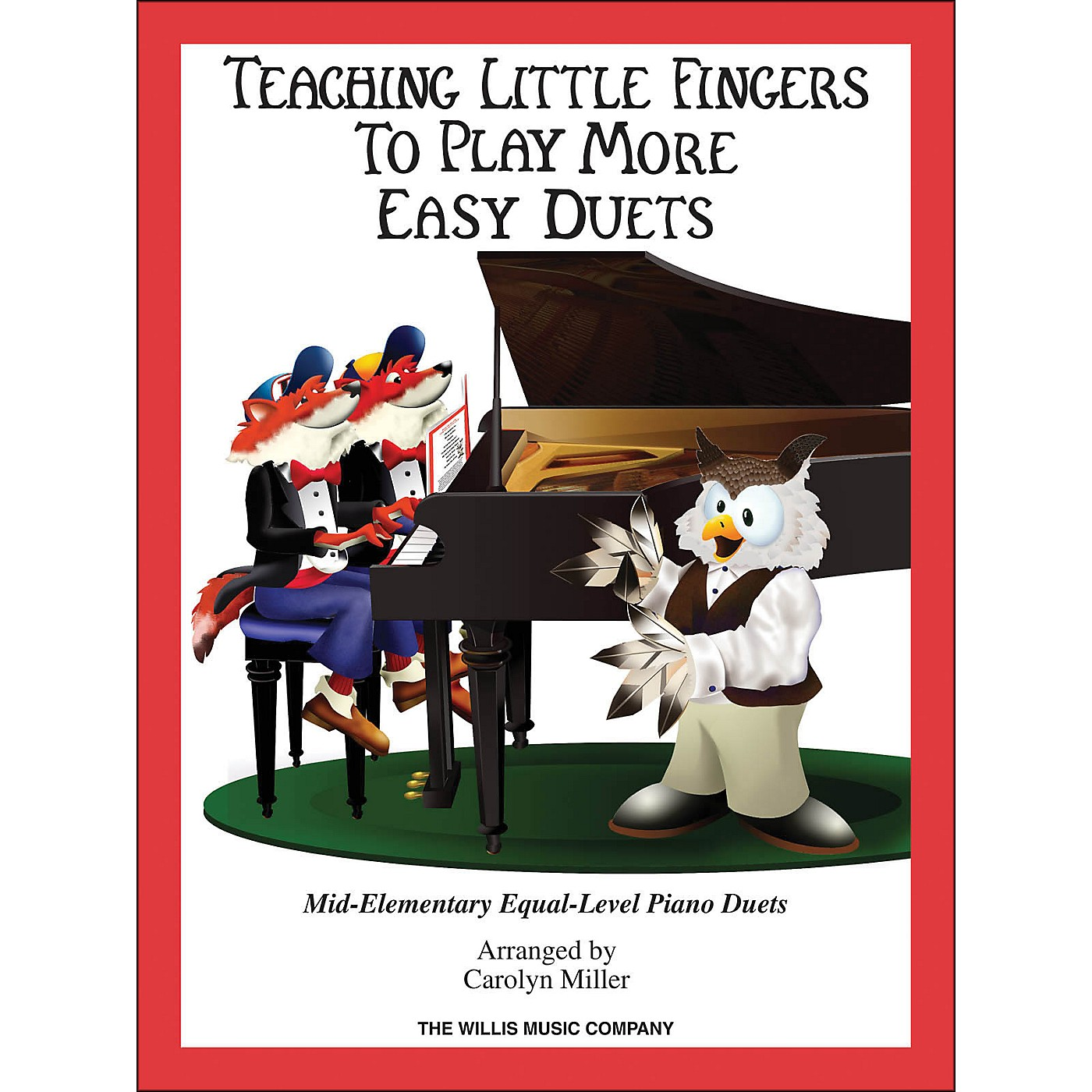 Hal Leonard Teaching Little Fingers To Play - More Easy Duets Book Only 1 Piano 4 Hands thumbnail