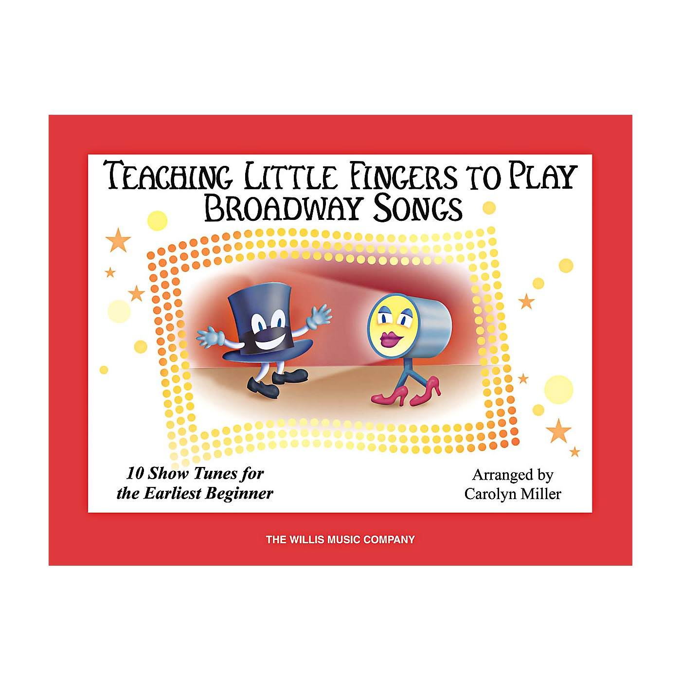 Willis Music Teaching Little Fingers To Play Broadway Songs Book thumbnail