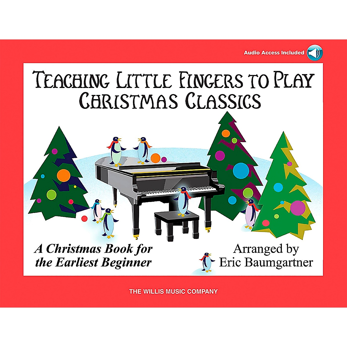 Willis Music Teaching Little Fingers To Play Christmas Classics (Book/CD) thumbnail