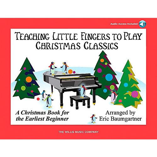 Willis Music Teaching Little Fingers To Play Christmas Classics (Book/CD) thumbnail