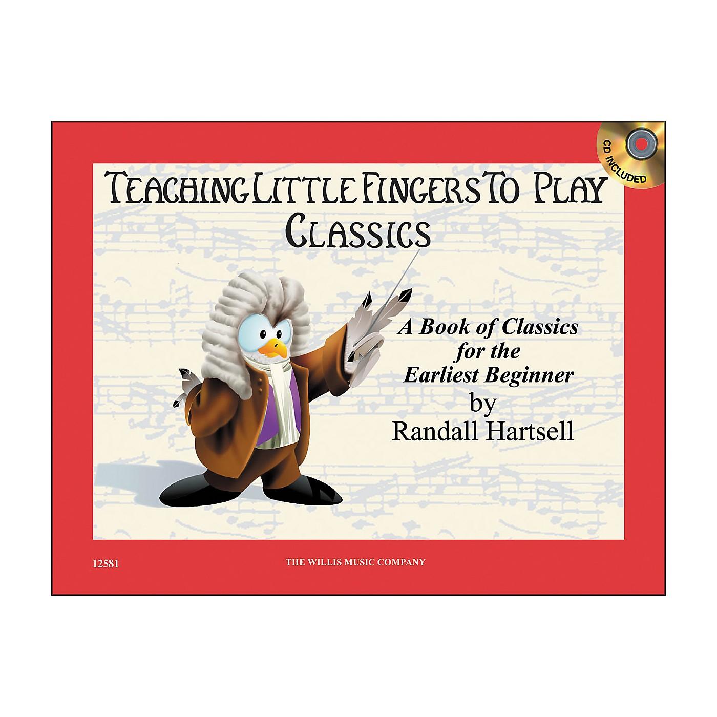 Willis Music Teaching Little Fingers To Play Classics Book/CD thumbnail