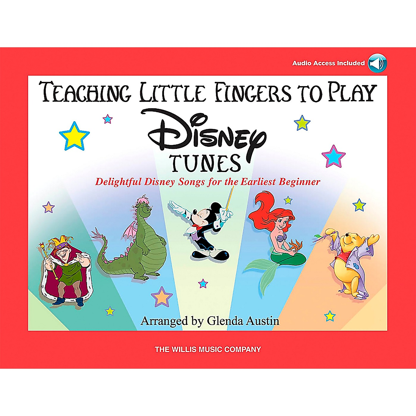 Willis Music Teaching Little Fingers To Play Disney Tunes Book/CD thumbnail