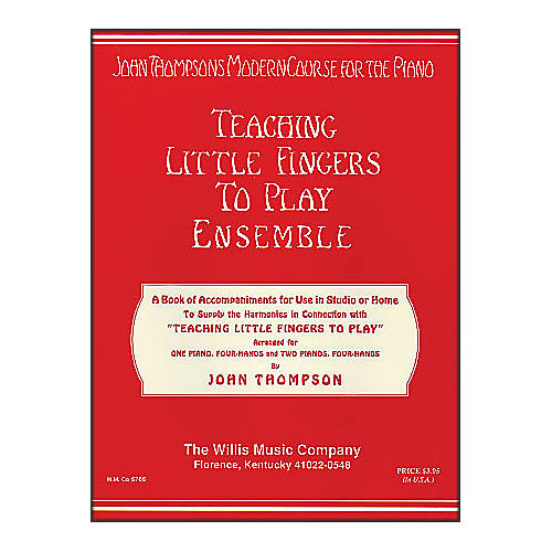 Willis Music Teaching Little Fingers To Play Ensemble - 1 And 2 Pianos, 4 Hands thumbnail