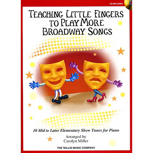Willis Music Teaching Little Fingers To Play More Broadway Songs Book/CD thumbnail