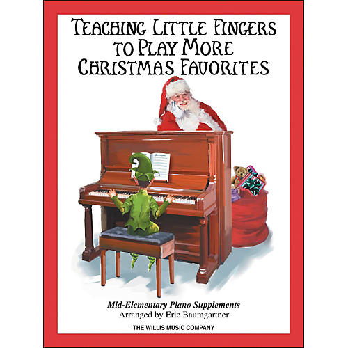 Willis Music Teaching Little Fingers To Play More Christmas Favorites Book thumbnail